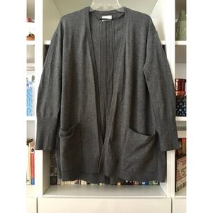 Lou & Grey open cardigan sweater, size M